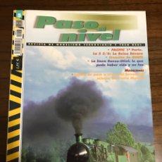 Trenes Escala: REVISTA PASO A NIVEL, NÚMERO 5. Lote 237761135
