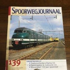Trenes Escala: REVISTA SPOORWEGJOURNAL. Lote 237763800