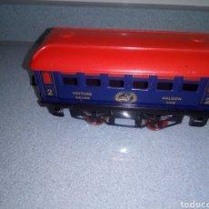 Trenes Escala: ANTIGUO VAGÓN DE TREN METÁLICO SALOON CAR. VOITURE SALÓN. SERIE HORNBY. FABRICADO POR HACHETTE. Lote 238076880