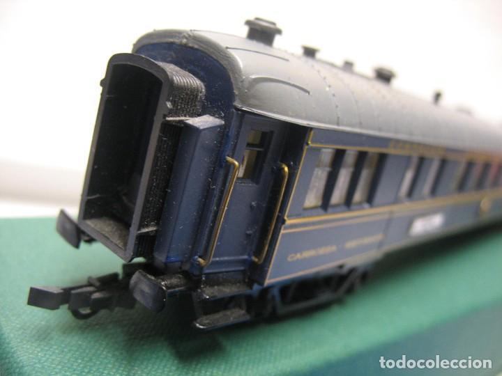 Trenes Escala: vagon de viajeros de los trenes expresos HO - Foto 6 - 238622110