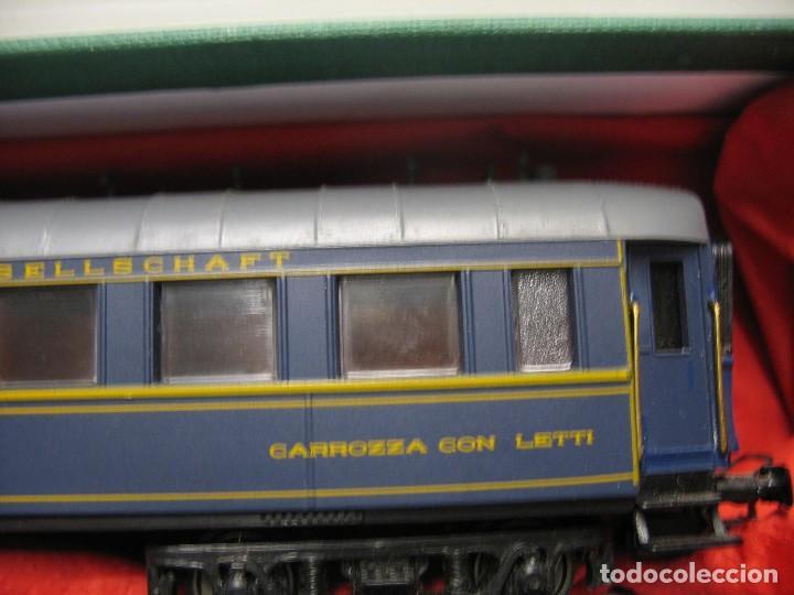 Trenes Escala: vagon de viajeros de los trenes expresos HO - Foto 8 - 238622235