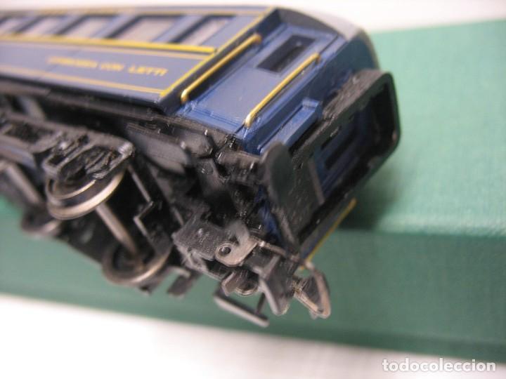 Trenes Escala: vagon de viajeros de los trenes expresos HO - Foto 4 - 238622235
