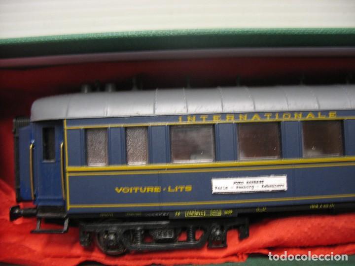Trenes Escala: vagon de viajeros de los trenes expresos HO - Foto 6 - 238622235