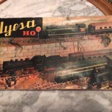 Trenes Escala: CAJA DE INICIACIÓN JYESA VACÍA , AÑOS 60. Lote 239661365