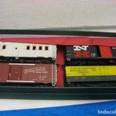 Trenes Escala: LOTE DE 4 VAGONES DE MERCANCIAS. Lote 240111875