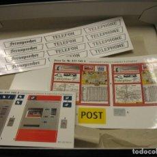 Trenes Escala: CAJA CON ACCESORIOS PARA MONTAR ESC. G DE POLA. Lote 240346360