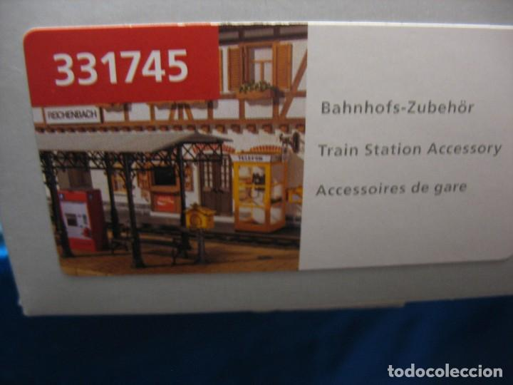 Trenes Escala: caja con accesorios para montar esc. G de pola - Foto 5 - 240346360