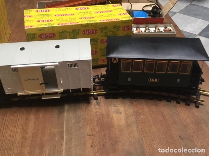 Trenes Escala: TREN LGB LEHMANN COMPLETO, 1970, CAJAS ORIGINALES Y FACTURA DE COMPRA - Foto 11 - 240481610