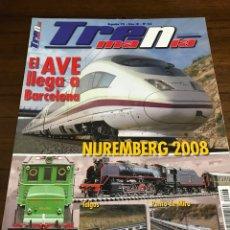 Trenes Escala: REVISTA TRENMANÍA 43. Lote 240917040