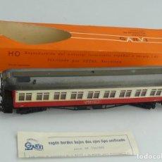 Trains Échelle: VAGÓN DE PASAGEROS DE TREN RENFE. GARVI. Lote 241138645