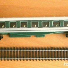 Trenes Escala: VAGON TREN PASAJEROS - ESCALA H0 - TREN ELECTRICO - ED. CLUB INTERNACIONAL DEL LIBRO. Lote 241282355