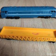 Trains Échelle: TREN ESCALA HO, MODELO SNCF 70000 T-151 HECHO EN ESLOVENIA. Lote 241452510