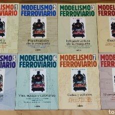 Trenes Escala: LIBROS 1-8 SOBRE MODELISMO FERROVIARIO. LIBROS LA CÚPULA.. Lote 243054290
