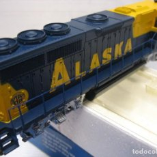 Trenes Escala: LOCOMOTORA ALASKA EN HO CONTINUA DIGITAL. Lote 243633650