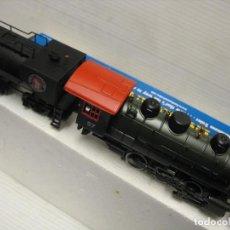 Trenes Escala: LOCOMOTORA CON LUZ Y HUMO HO CONTINUA. Lote 243637005
