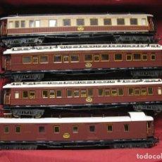 Trenes Escala: DEL ORIENT- EXPRESS TREN DE 4 UNIDADES HO. Lote 243912255