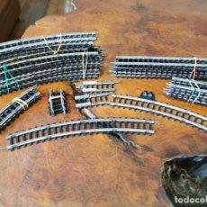 Trenes Escala: LOTE DE VIAS ESCALA H0 JYESA, EN BUEN ESTADO, REFERENCIAS Y CANTIDADES LEER MAS.. Lote 244183325