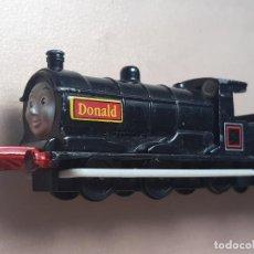 Trenes Escala: THOMAS THE TANK ENGINE AND FRIENDS ERTL 1992 LOCOMOTORA DONALD TRENES. Lote 244188270