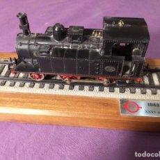 Trenes Escala: LOCOMOTORA TRANSFESA XXXV ANIVERSARIO 1943-1978 TREN ESCALA H0 MAQUETA MZA 179. Lote 244433550