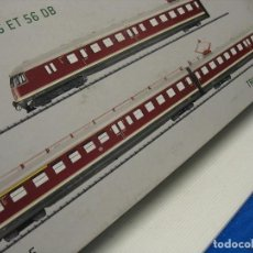 Comboios Escala: FANTASTICO AUTOMOTOR TRIX DE TRES UNIDADES 22625. Lote 244826850