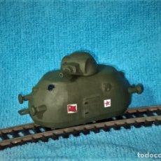 Trenes Escala: LOTE - VAGON BLINDADO SOVIETICO - EJERCITO RUSO WWII - SOVIET ARMOURED WAGON - PARA VIAS H0 / OO. Lote 245419135