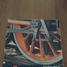 Trenes Escala: CATALOGO TRENES ELÉCTRICOS EN MINIATURA LIMA X EDICIÓN 1966-67. Lote 245918700