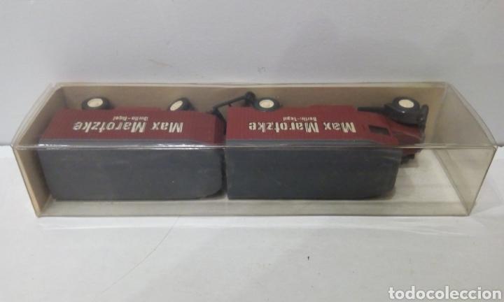 Trenes Escala: JIFFY VENDE CAMIÓN MERCEDES BENZ WIKING 1:87 CON REMOLQUE L2500 24 845 MAX MAROTZKE BERLIN TEGUEL - Foto 4 - 246277195