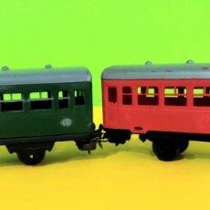 Trenes Escala: 2 VAGONES JYESA DISTINTA ÉPOCA HO. Lote 247755585