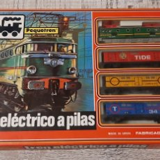 Trains Échelle: TREN RENFE PEQUETREN TREN A PILAS RENFE. Lote 248828120