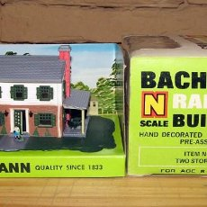 Trenes Escala: BACHMANN - TWO STORY HOUSE - CASA CHALET - REF. 7204 - NUEVA Y EN SU CAJA ORIGINAL - ESCALA N. Lote 250105950