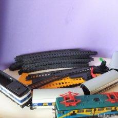Trenes Escala: LOTE DE PEQUETREN TREN PENDULAR MÁS LOCOMOTORA 269. Lote 250212105