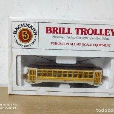 Trenes Escala: BRILL TTOLLEY R DE BACHMANN H0 TRANVÍA. Lote 251163430