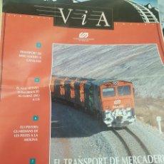 Trenes Escala: FGC. FERROCARRILES. PERIÓDICO VIA, FERROCARRILES CATALANES, ABRIL 1994. Lote 251348705