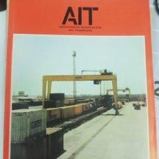 Trenes Escala: FERROCARRIL. REVISTA DE LA ASOCIACIÓN DE INVESTIGACIÓN DEL TRANSPORTE N°58 JUNIO 1984. Lote 251352465