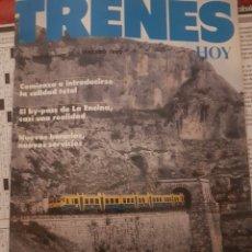 Trenes Escala: FERROCARRIL. REVISTA TRENES HOY N°23 FEBRERO 1989. Lote 251514230