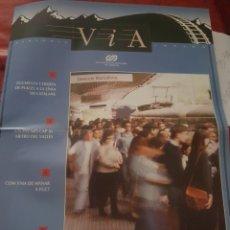 Trenes Escala: FGC. FERROCARRILES CATALANES. PERIÓDICO VIA, N° 28 OCTUBRE 1995. Lote 251515835