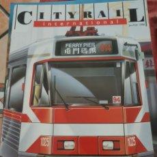 Trenes Escala: FERROCARRIL. REVISTA CITY RAIL, FEBRERO 1996. Lote 251558585