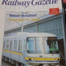 Trenes Escala: FERROCARRIL. REVISTA RAILWAY GAZETTE, 1994. Lote 251566130
