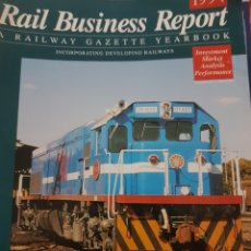 Trenes Escala: FERROCARRIL. REVISTA RAIL BUSINESS REPORT, 1994. Lote 251567820