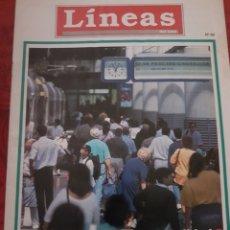 Trenes Escala: RENFE. REVISTA LÍNEAS DEL TREN, N°66, JULIO 1993. Lote 251663015