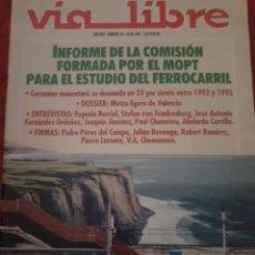 Trenes Escala: FERROCARRIL. REVISTA VÍA LIBRE N°342 JULIO 1992. Lote 251663425