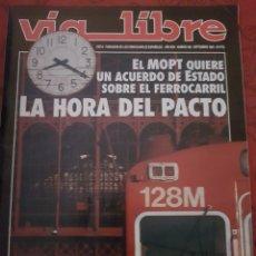 Trenes Escala: FERROCARRIL. REVISTA VÍA LIBRE N°356 SEPT 1993. Lote 251663610