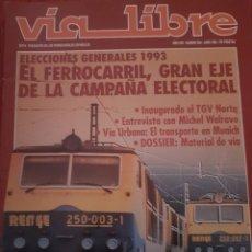 Trenes Escala: FERROCARRIL. REVISTA VÍA LIBRE N°353 JUNIO 1993. Lote 251663690
