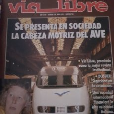 Trenes Escala: FERROCARRIL. REVISTA VÍA LIBRE N°328 MAYO 1991. Lote 251664085