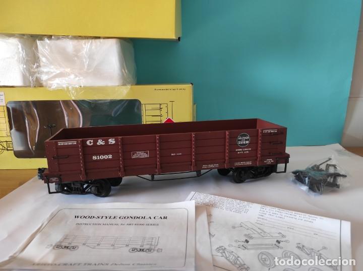 Trenes Escala: ARISTOCRAFT VAGON REF: 81002 ESCALA G 1:24 - Foto 4 - 252643110