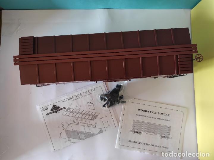 Trenes Escala: ARISTOCRAFT VAGON REF: 86002 ESCALA G 1:24 - Foto 8 - 252644355