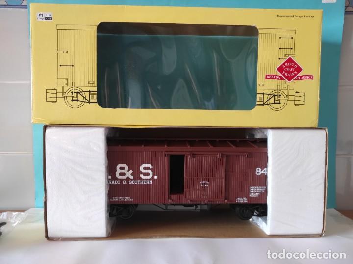 Trenes Escala: ARISTOCRAFT VAGON REF: 86002 ESCALA G 1:24 - Foto 10 - 252644355
