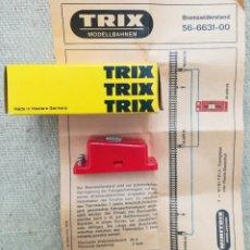 Trenes Escala: RESISTENCIA DE FRENADO - TRIX 6631 - EN SU CAJA ORIGINAL CON FOLLETO - PJRB. Lote 252899175