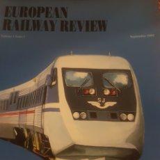 Trenes Escala: FERROCARRIL. EUROPEAN RAILWAY REVIEW SEPT 1995. Lote 252937510
