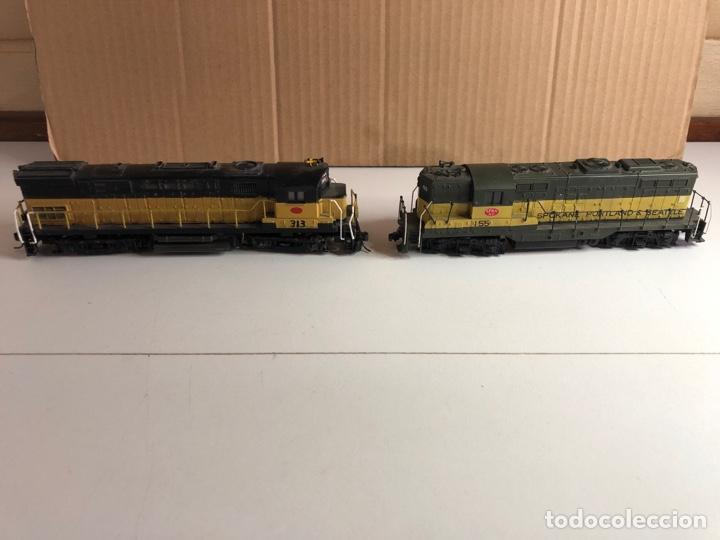 Trenes Escala: 2 locomotoras H0 corriente continua - Foto 16 - 253442100
